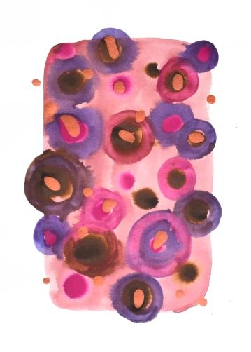 Bubbles pink #3