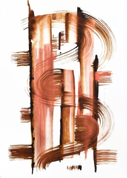 Copper Swirl #1