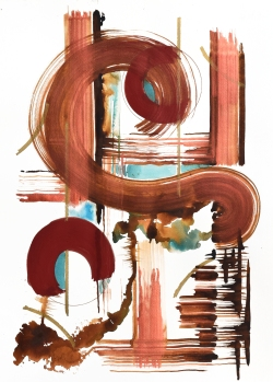 Copper Swirl #2