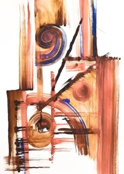 Copper Swirl #3
